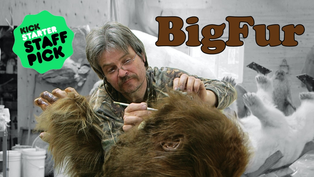Big Fur – a documentary about taxidermy. And Bigfoot. project video thumbnail