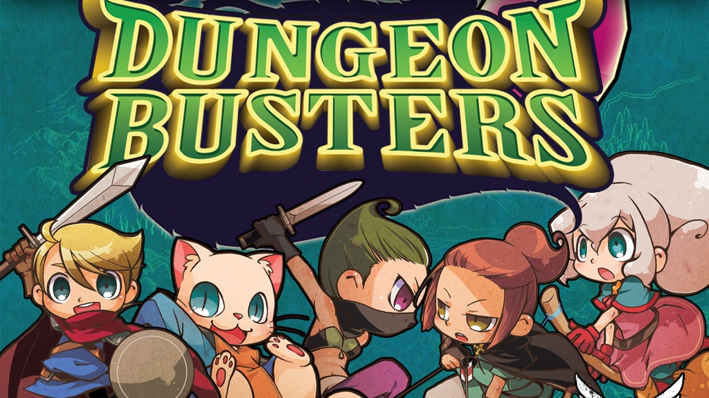 Dungeon Busters 3-5 Player 20 Minute Filler Family Card Game project video thumbnail