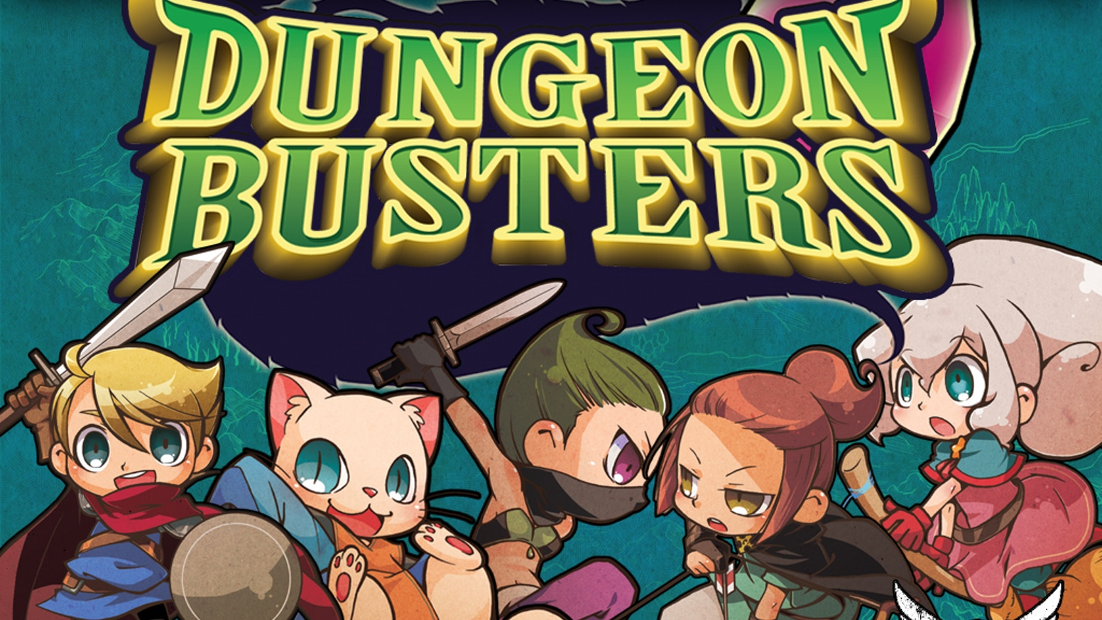 3-5 Player Bluffing Game that plays in 15-20 minutes.  Dungeon Busters is a quick, light, family filler game for ages 7+.