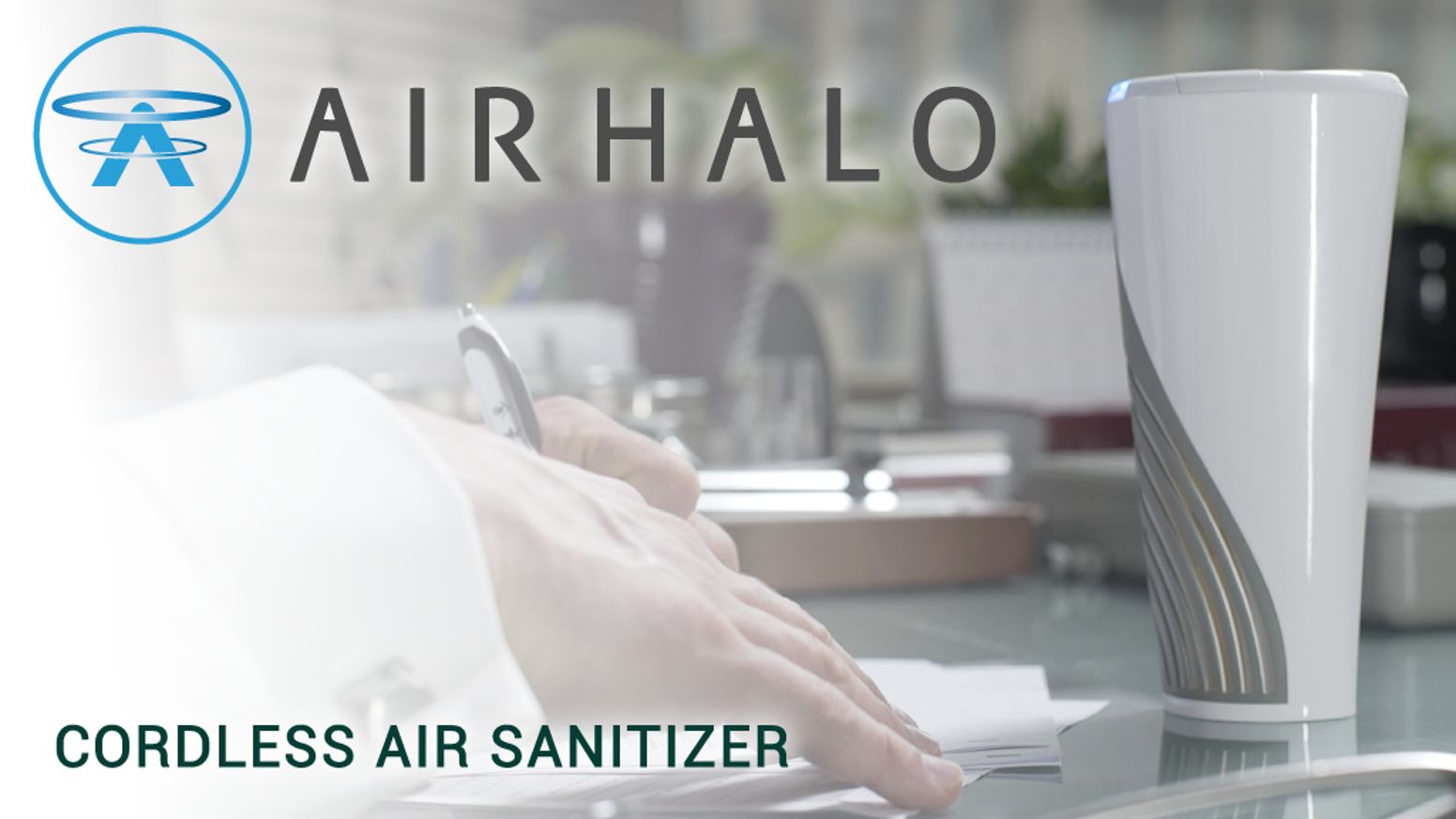 Travel, work & play worry-free of infections/allergies. Air Halo's MicroLightnings destroy germs in seconds. Germ-full filters no more.