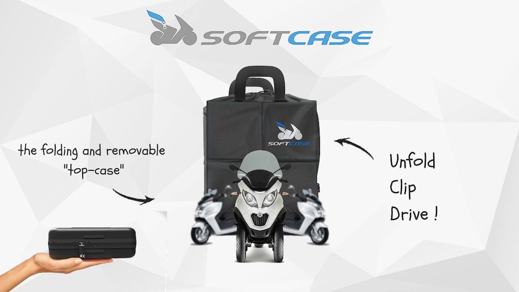 Miniature de la vidéo du projet SOFTCASE - The 1st folding and removable top case