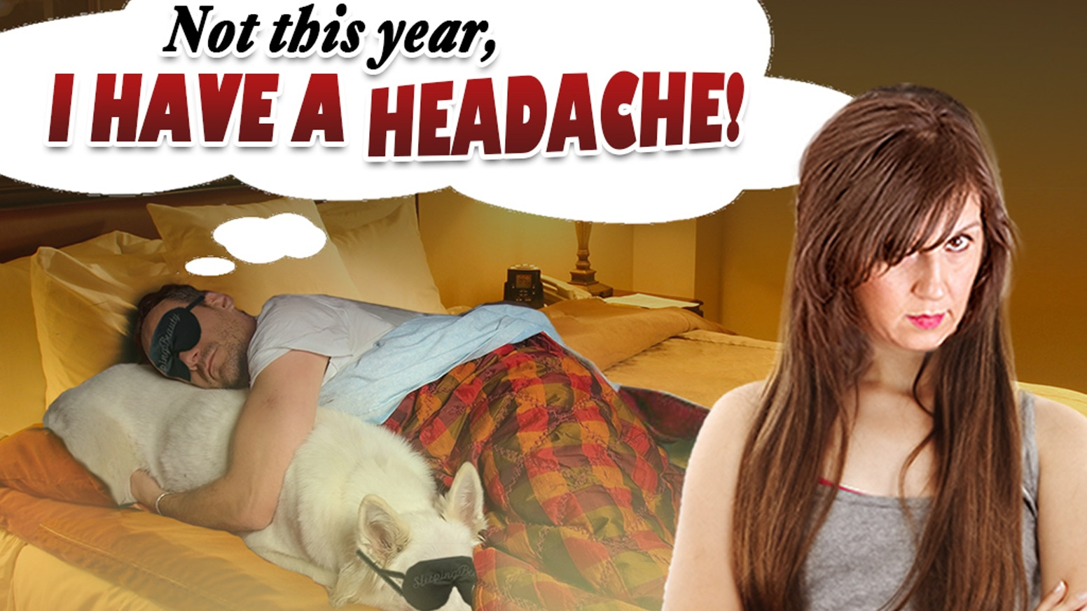 I Have a Headache: a comedy about marriage