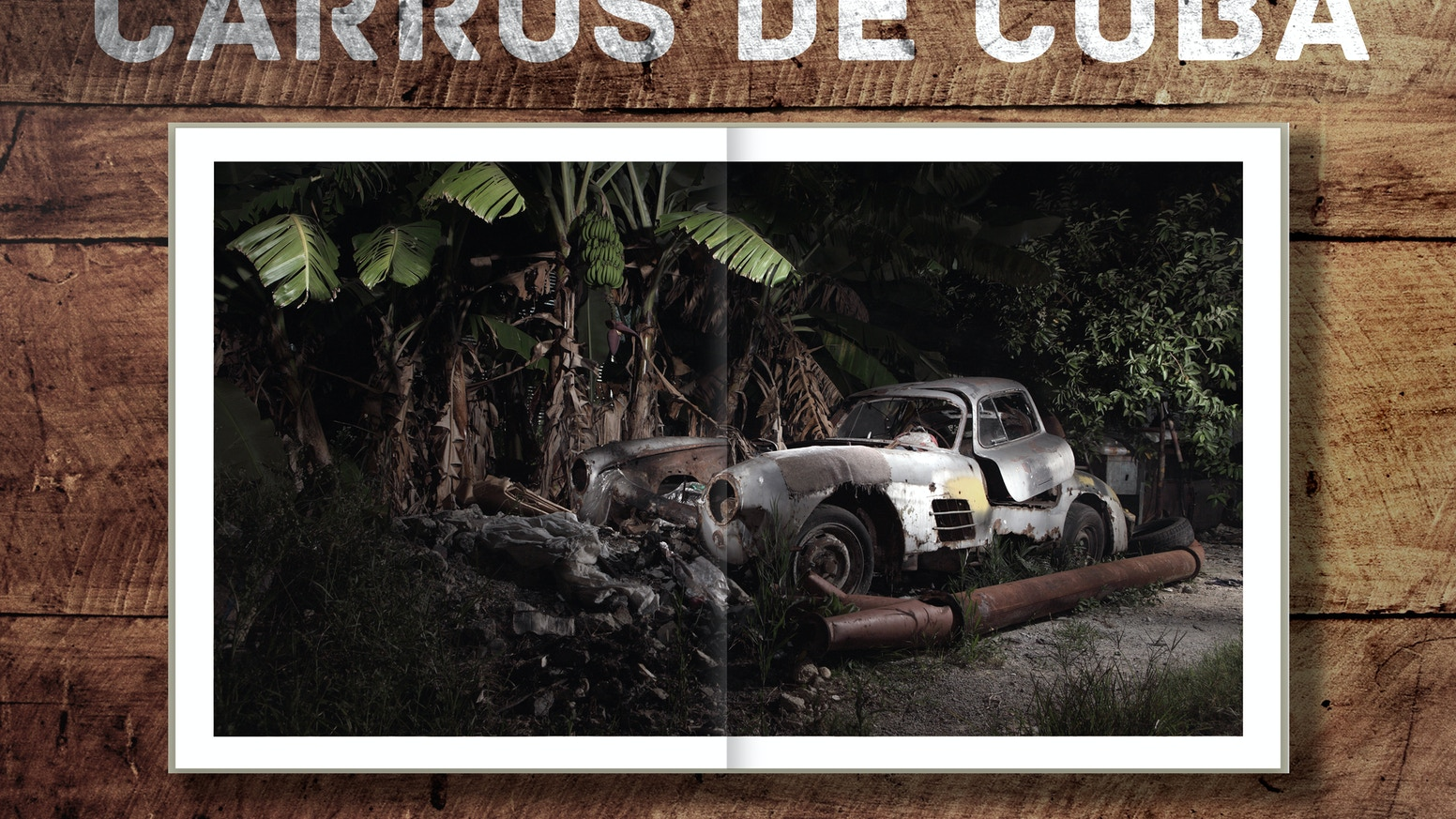 Coffee table book of the highly anticipated 'Carros de Cuba' project by internationally awarded automotive photographer Piotr Degler.