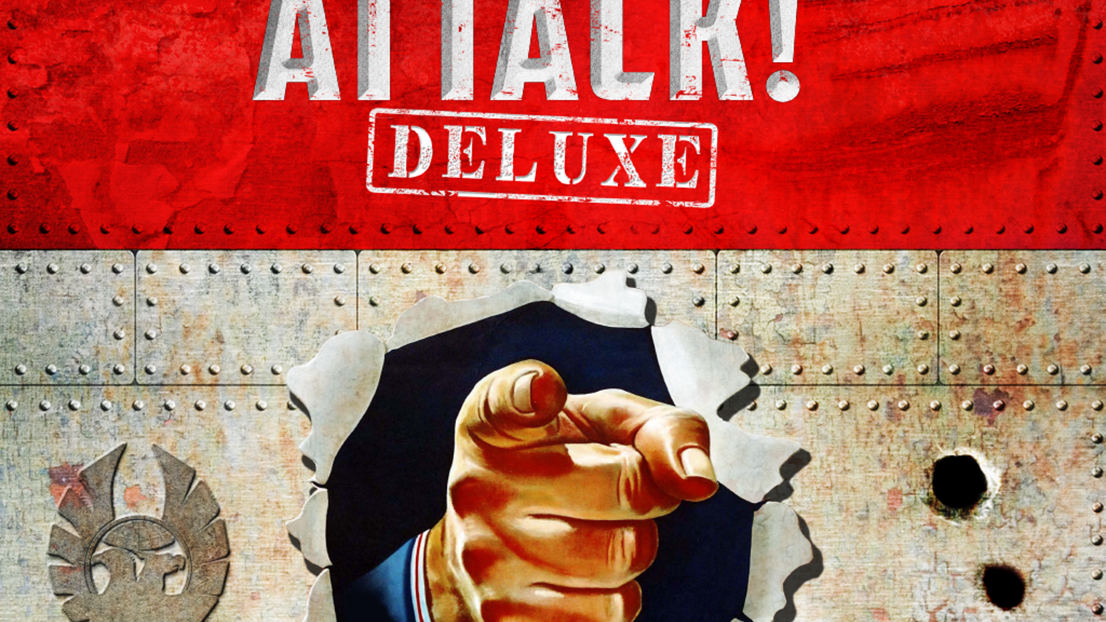 More than 100,000 people have bought ATTACK! Now you can get its Deluxe Expansion! Join the Fight Today!