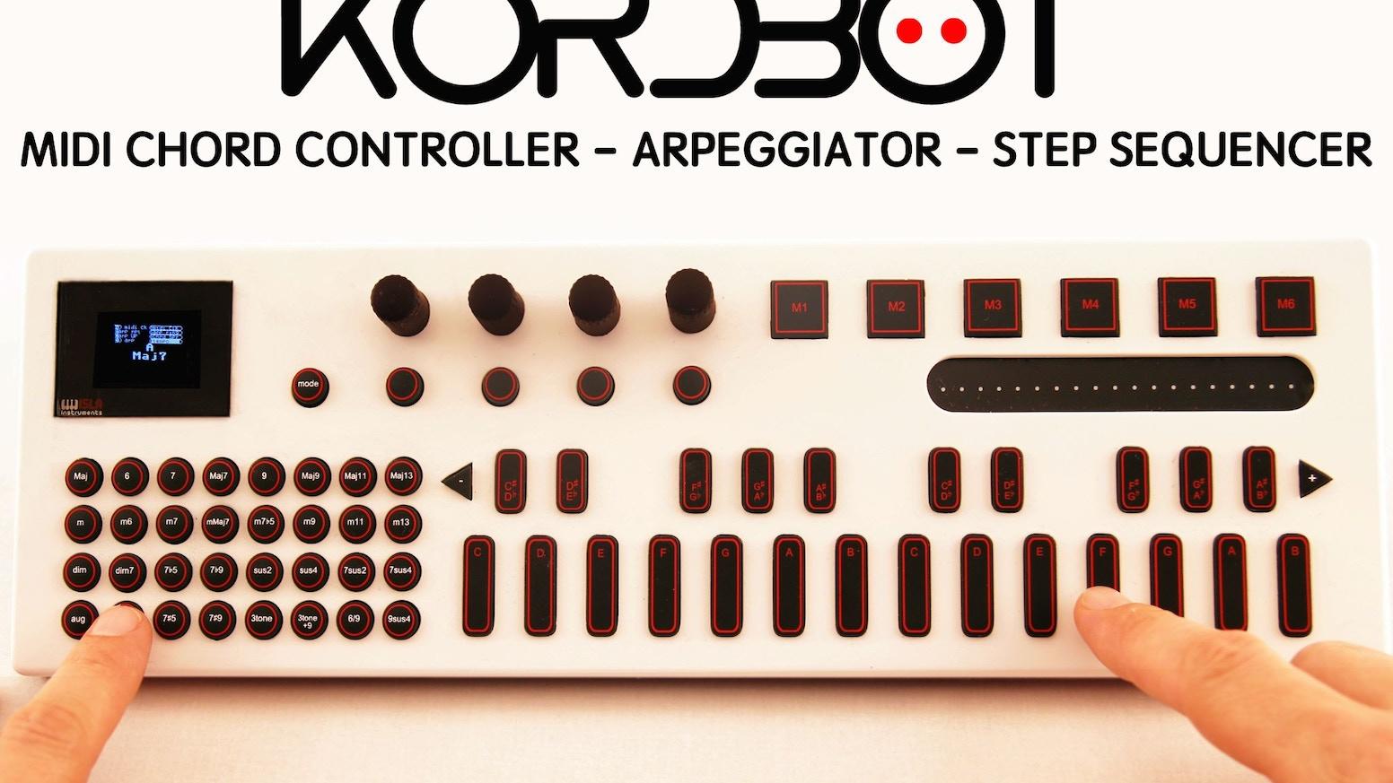 kordbot music production assistant by isla instruments llc kickstarter. Black Bedroom Furniture Sets. Home Design Ideas