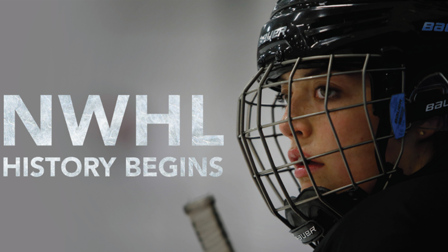 PASSION FOR HOCKEY. THE DRIVE TO WIN. THE PLACE OF WOMEN'S SPORTS IN OUR SOCIETY. Behind the scenes of the NWHL's first season.
