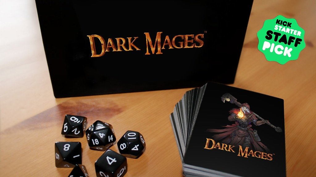 Dark Mages: Card Game project video thumbnail