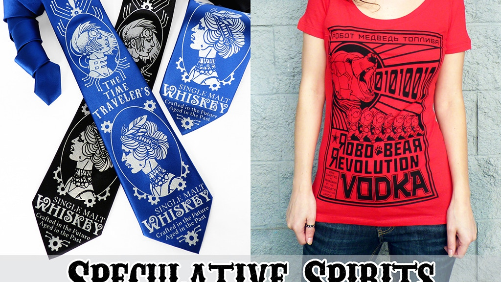 Speculative Spirits: Apparel Inspired by Liquor + Fiction project video thumbnail