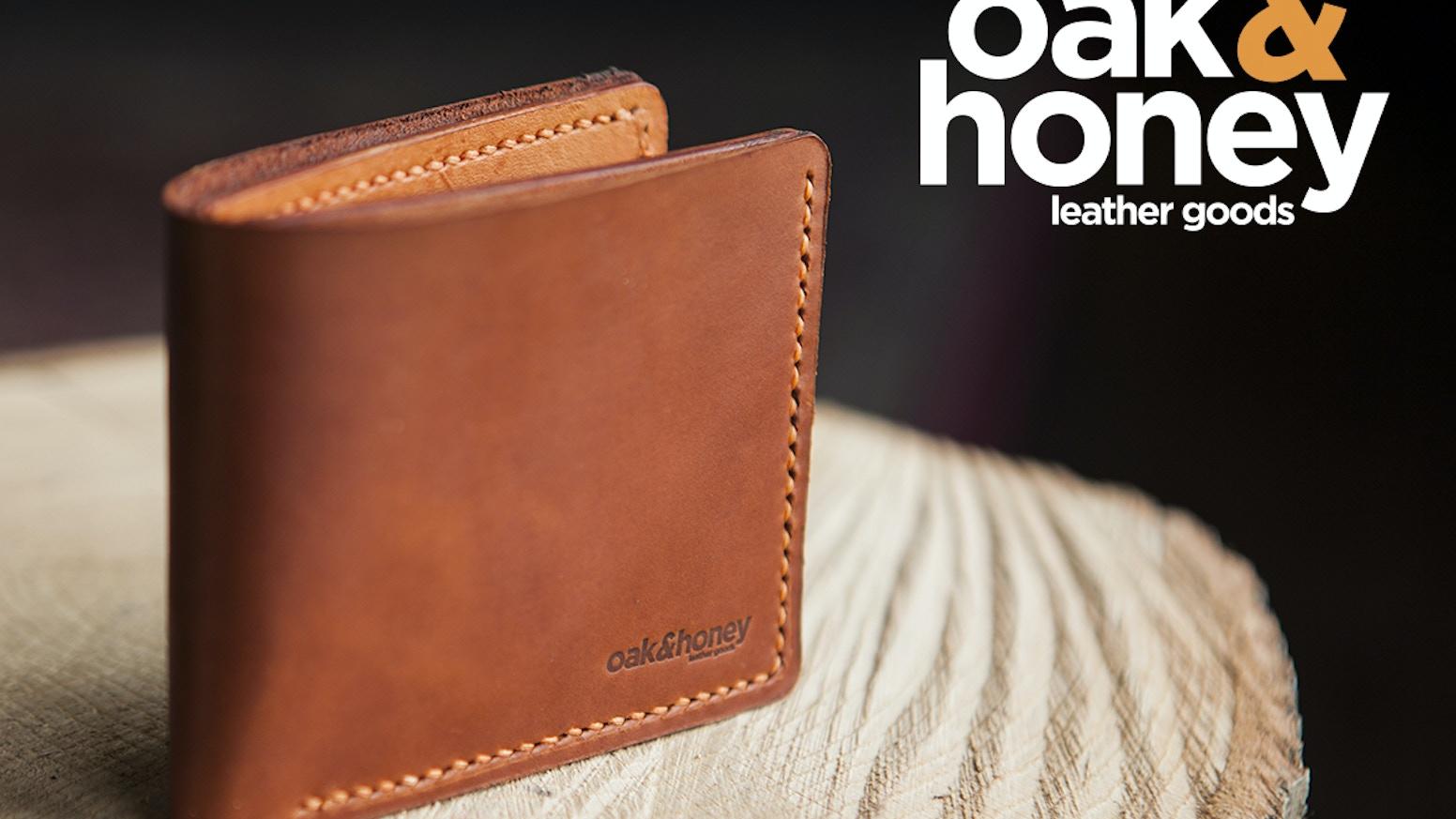 Oak   Honey Leather Goods - Handmade in Canada by Steven Gircys ... 672686201de7