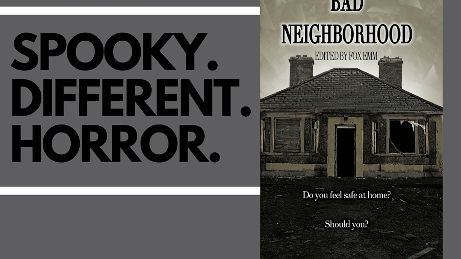 "An Amazon Bestselling Horror Anthology, this extreme horror anthology was inspired by the splatterpunk sub-genre, and is themed around the idea of ""home""."