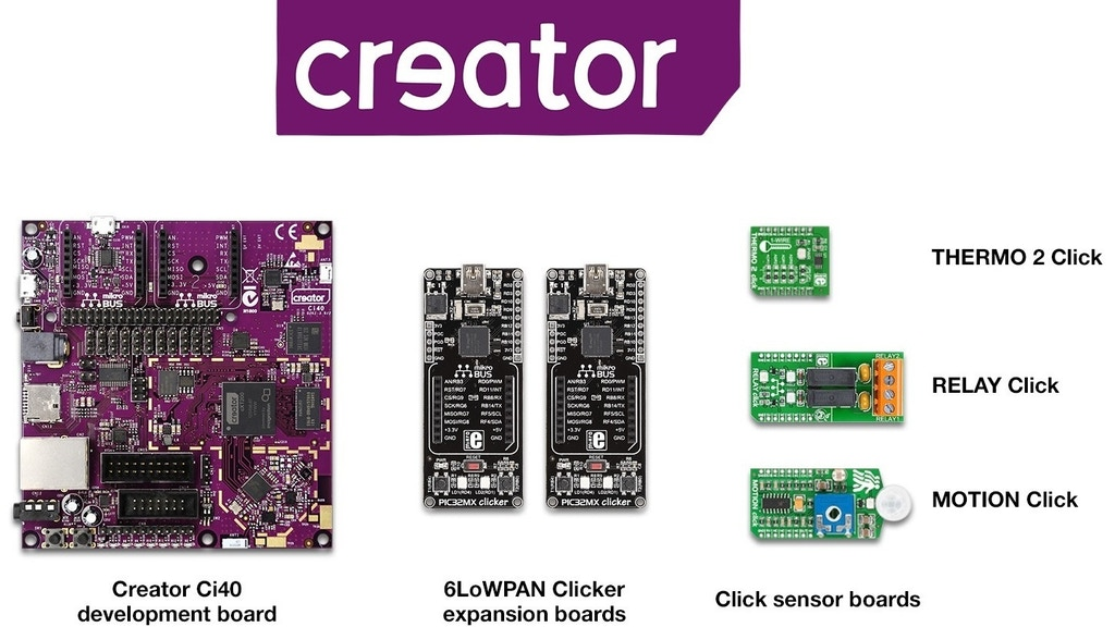 Creator Ci40: The ultimate IoT-in-a-box dev kit project video thumbnail