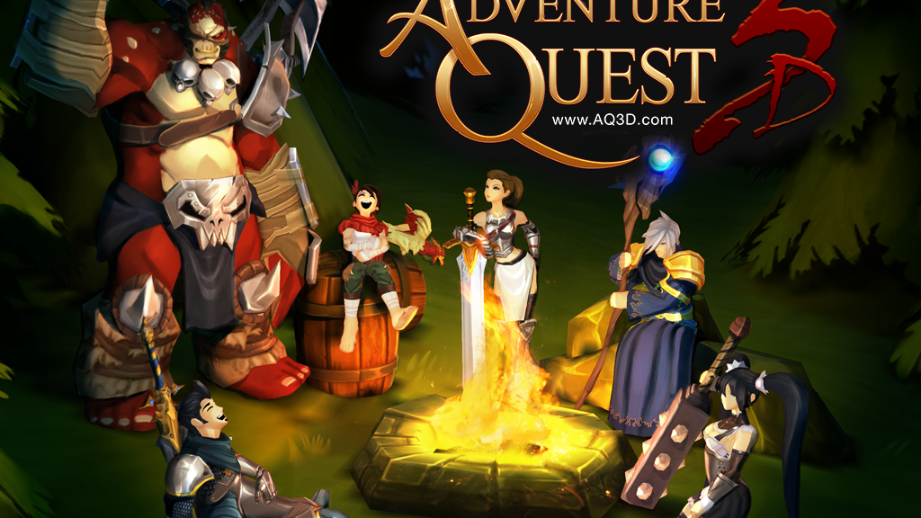 AdventureQuest 3D project video thumbnail
