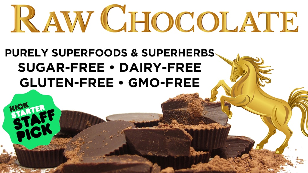 Raw Gourmet Sugar-Free Superfood Chocolate with Superherbs project video thumbnail
