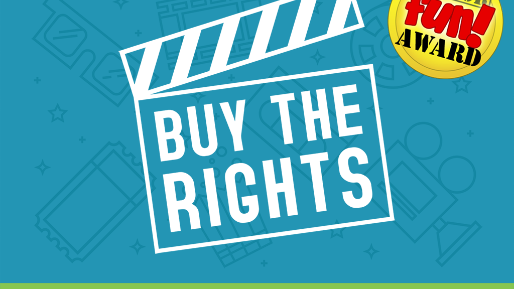 Buy the Rights: The Movie Pitching Party Game project video thumbnail