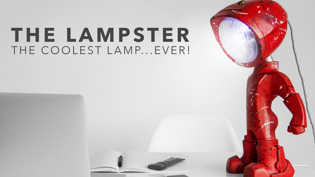 The Lampster | A Lamp with Attitude project video thumbnail
