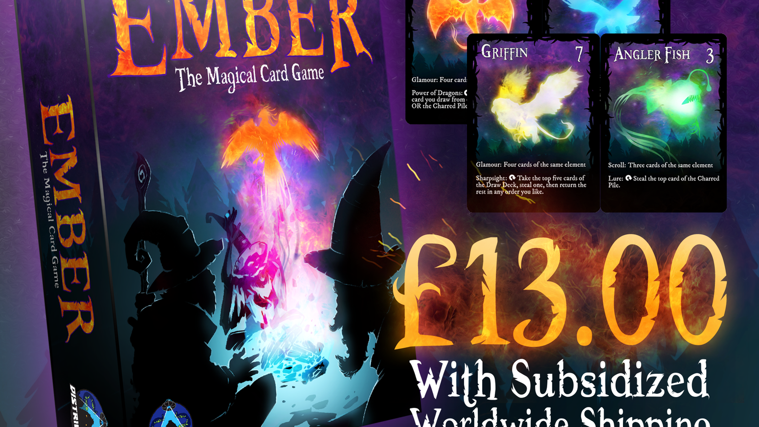 Ember: the Magical Card Game: an exciting, fast-paced card game of mythical monster conjuring that absolutely anyone can learn.