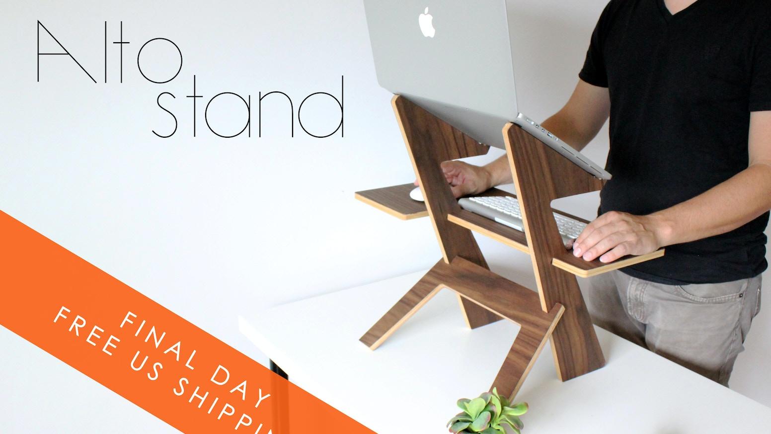The modern standing desk, minimal-elegant-affordable design.