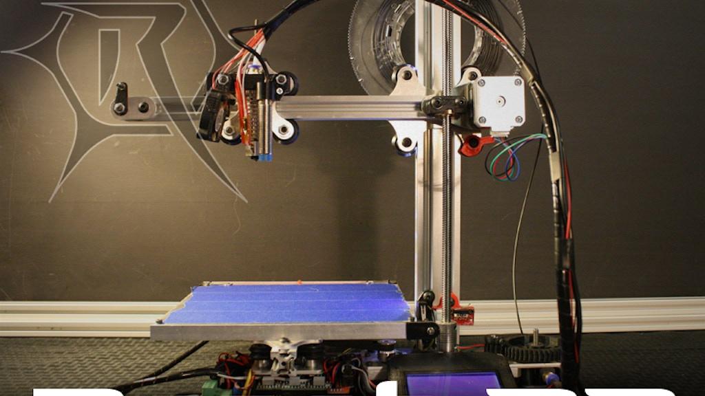$259 Reach 3D Printer project video thumbnail