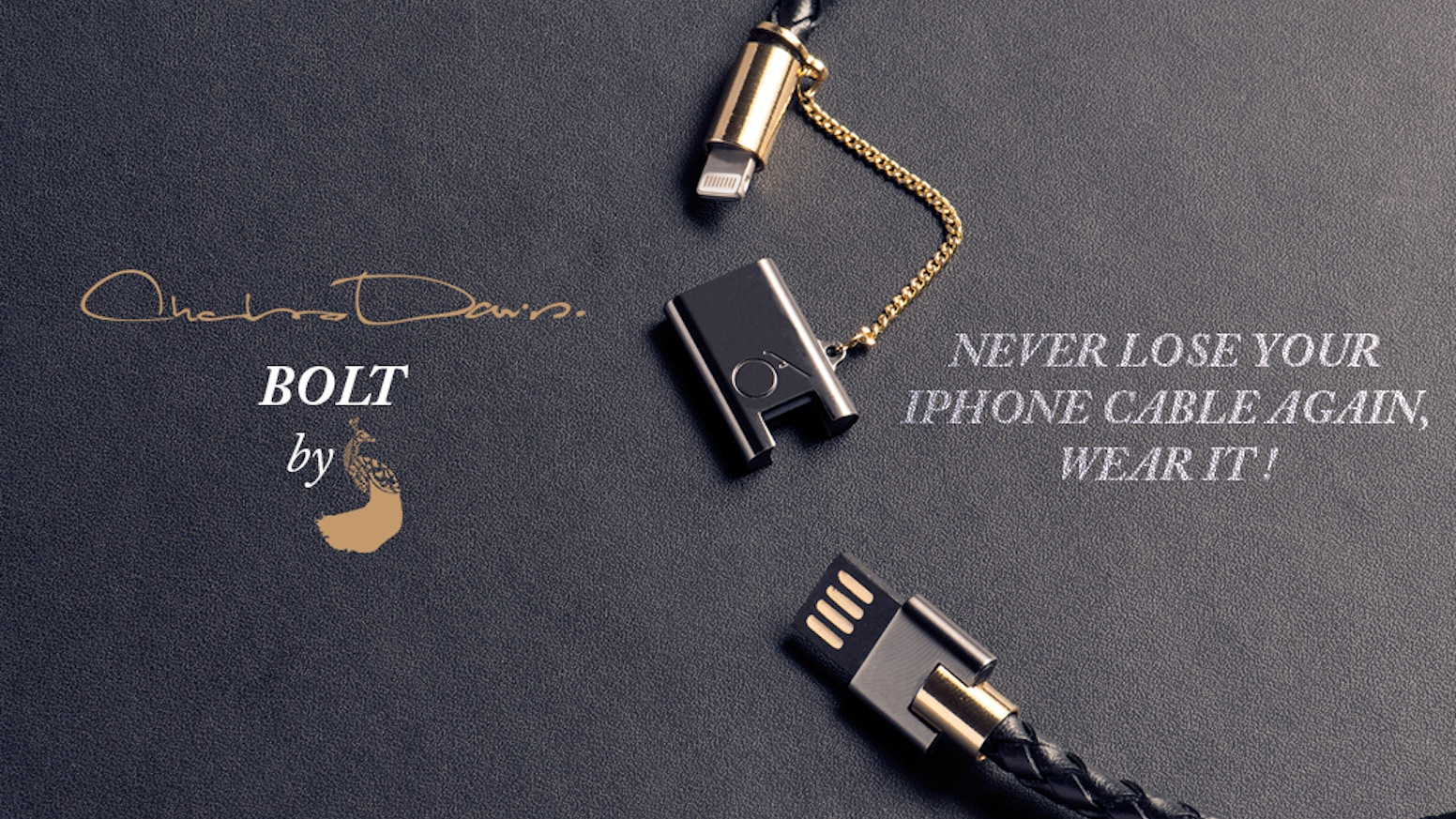 Bolt Is A Wearable Bracelet Made For Iphone Ipad Ipod Crafted Of Genuine