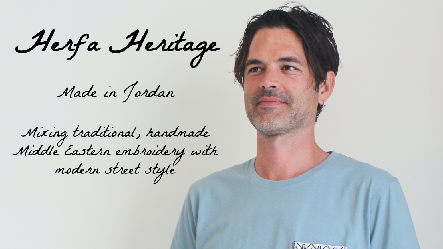 An apparel concept that pairs beautiful, handmade Middle Eastern embroidered pockets with comfy shirts, hoodies & hats #herfaheritage