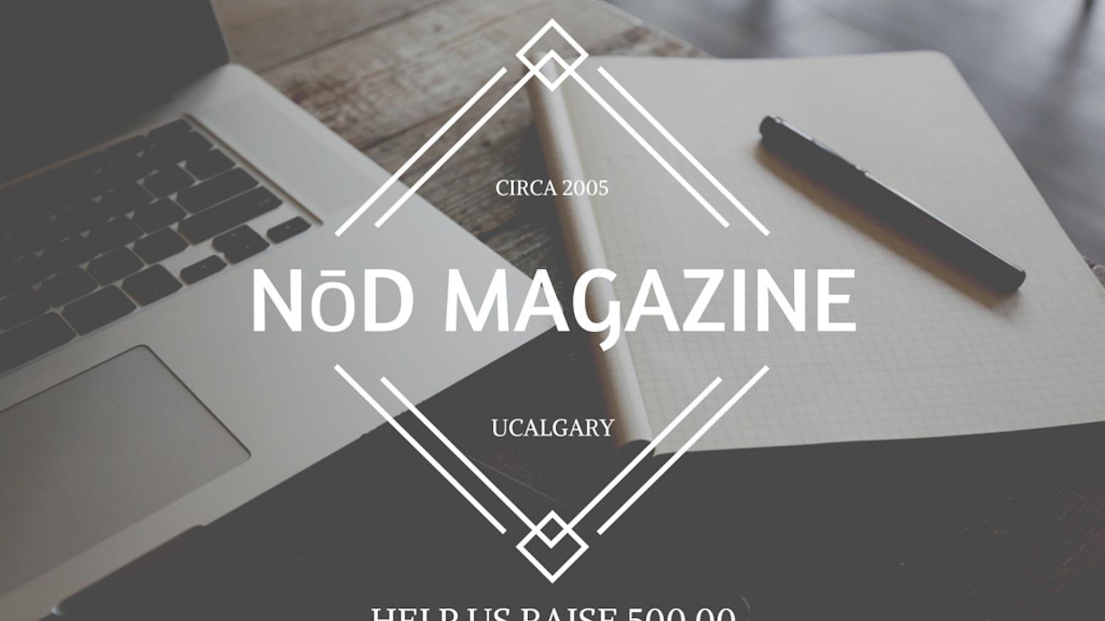 Art Ucalgary Calendar : Nōd magazine by katie o brien —kickstarter