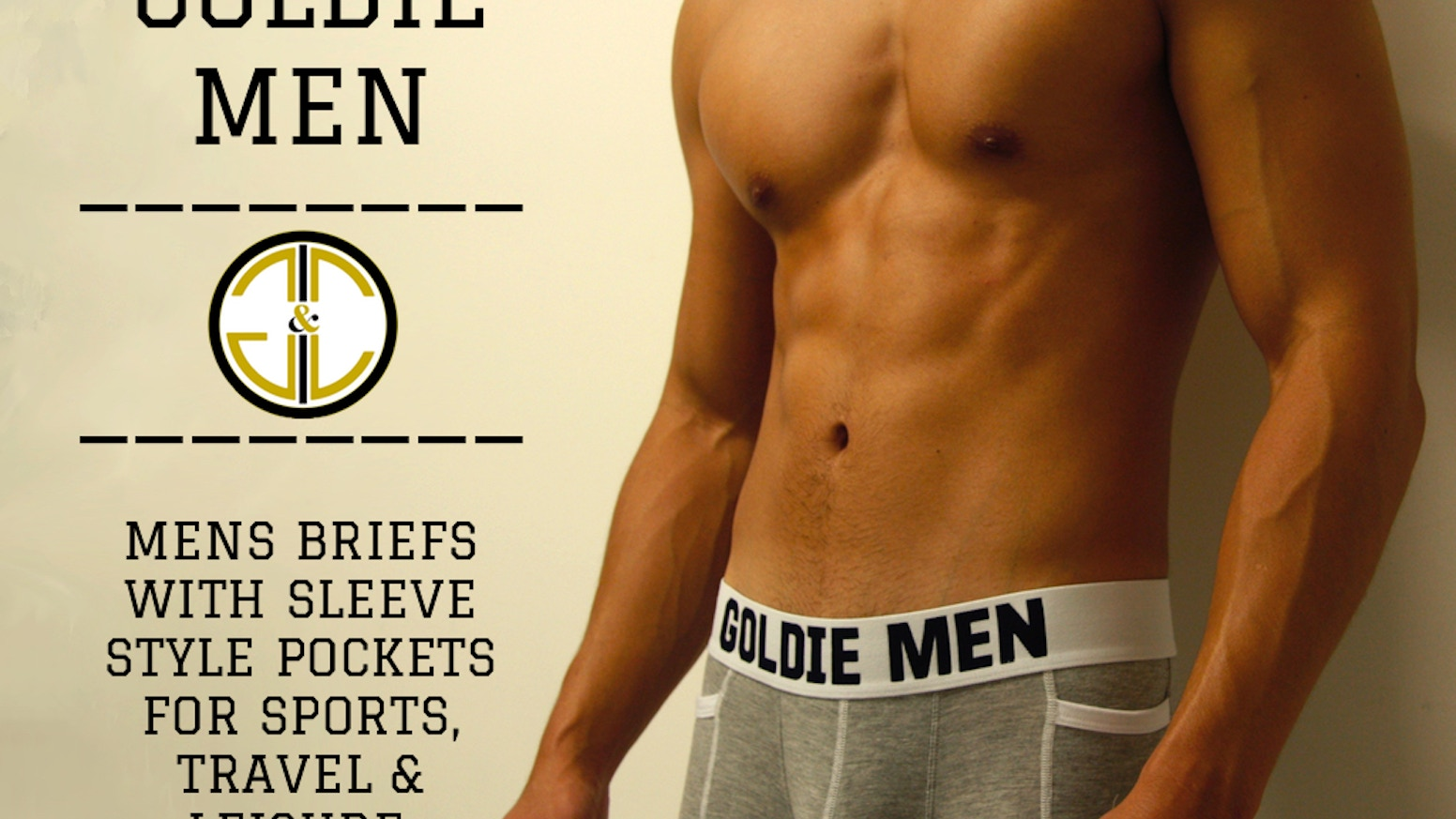 Mens Briefs With Sleeve Style Pockets For Sports 06a4d31ce4e1