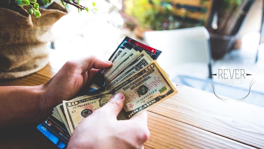 Rever Vant Clipfold- The Most Cash Accessible Wallet project video thumbnail