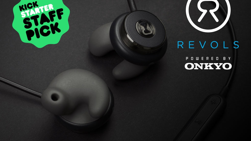 Revols - Premium Quick Custom-Fit Wireless Earphones project video thumbnail