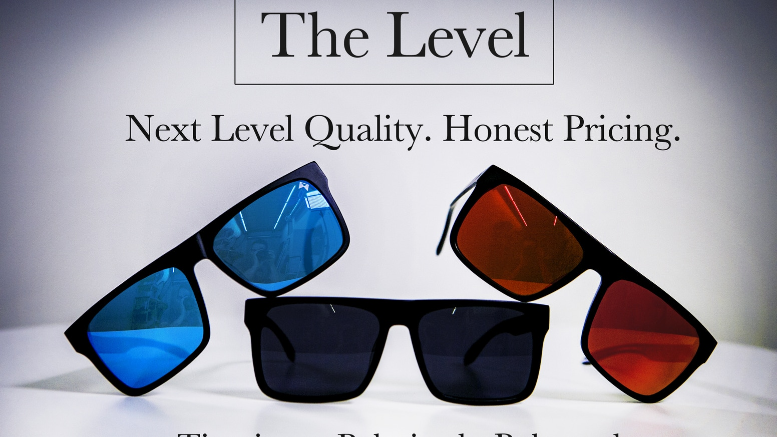 THE LEVEL - Aerospace Titanium Sunglasses at an Honest Price