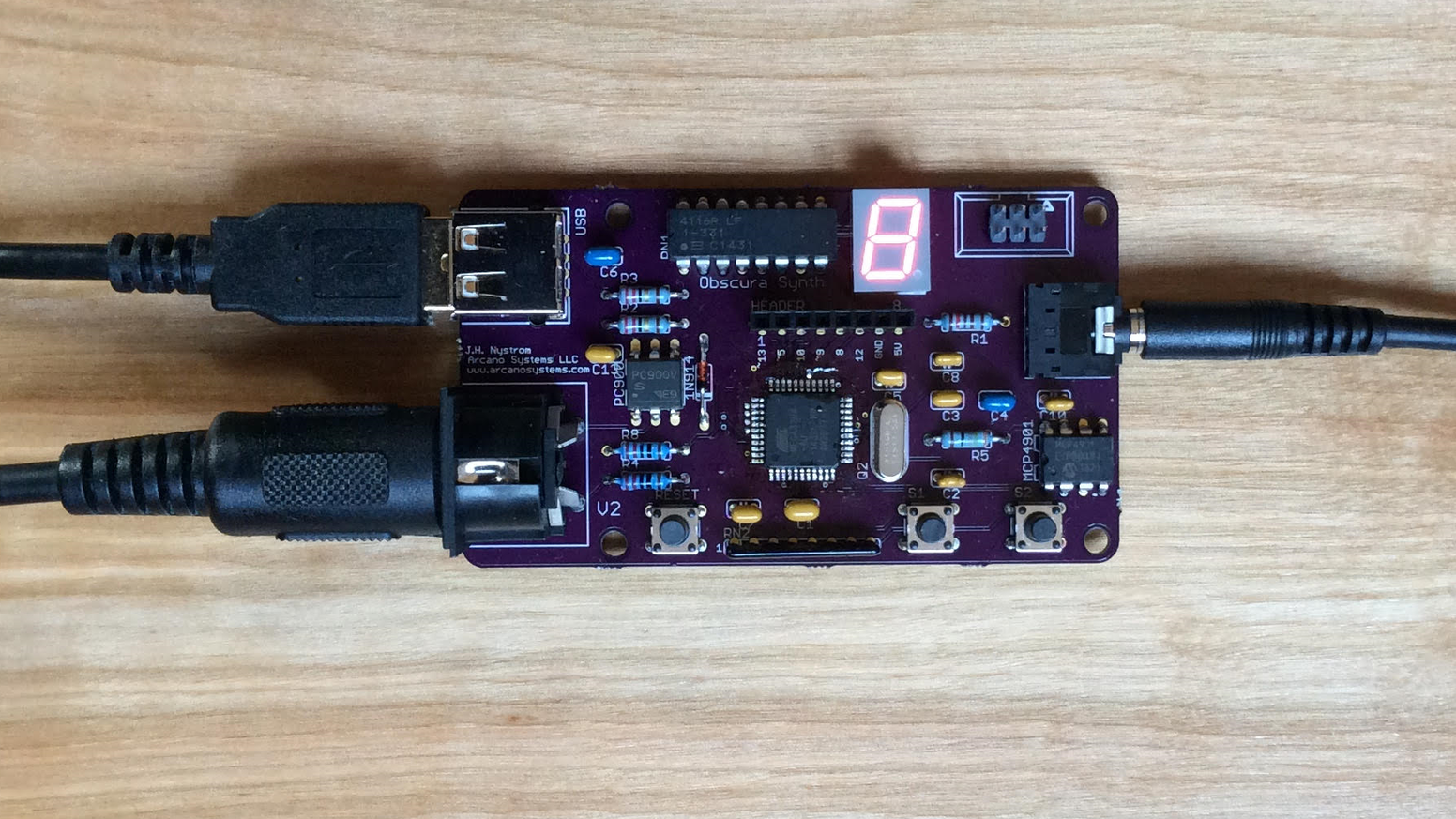 An Arduino-compatible 8-bit MIDI synth for creating Nintendo, C64, and Amiga-style chiptune music