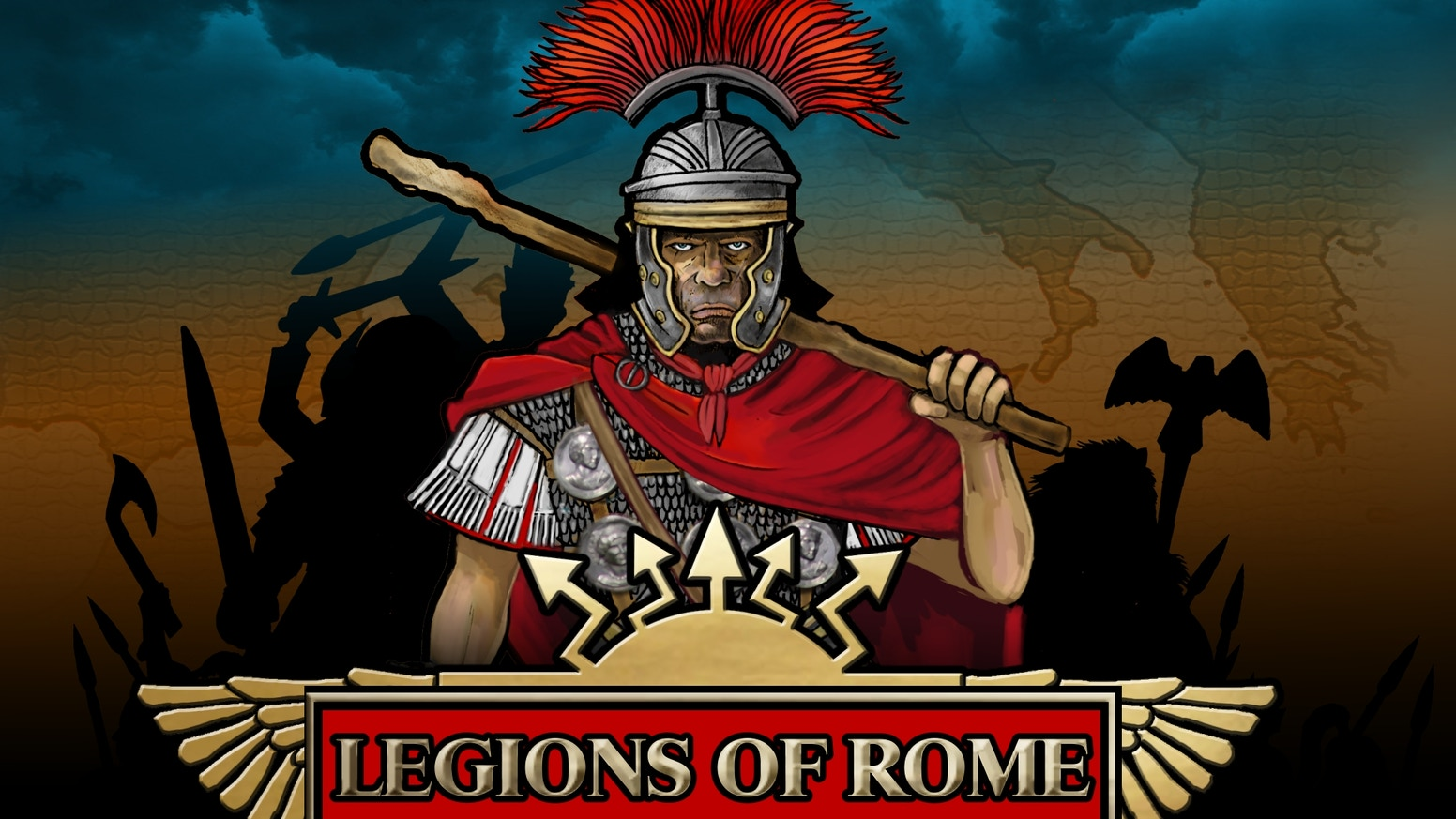 """Raise the Eagles and prepare for war!    Join us for """"Legions of Rome"""" Phase II of War & Empire - 15mm Ancients game and miniatures!"""
