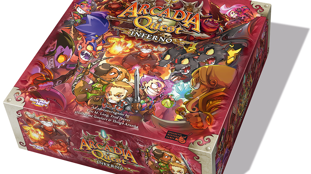 Arcadia Quest: Inferno project video thumbnail