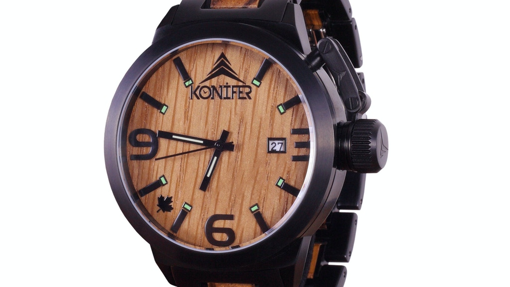 KARBON Watch: Customizable Wood & Stainless Steel Watches project video thumbnail