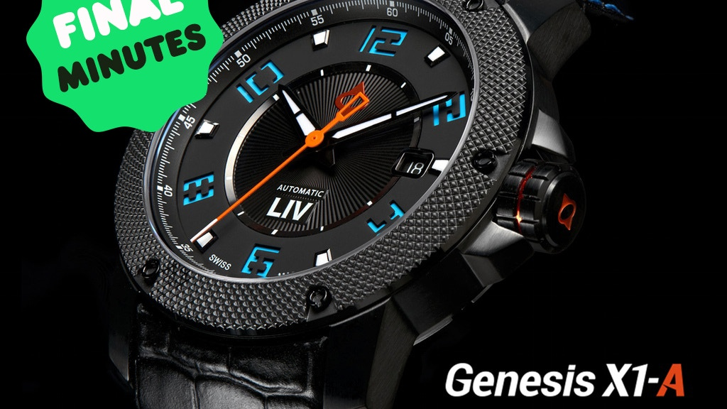 Redefining Swiss Automatic Watches by LIV project video thumbnail
