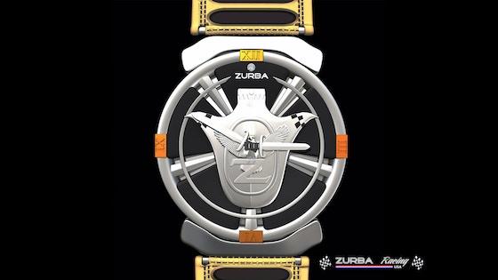 Timepiece Watch By Zurba Supercar Artpiece Backerkit