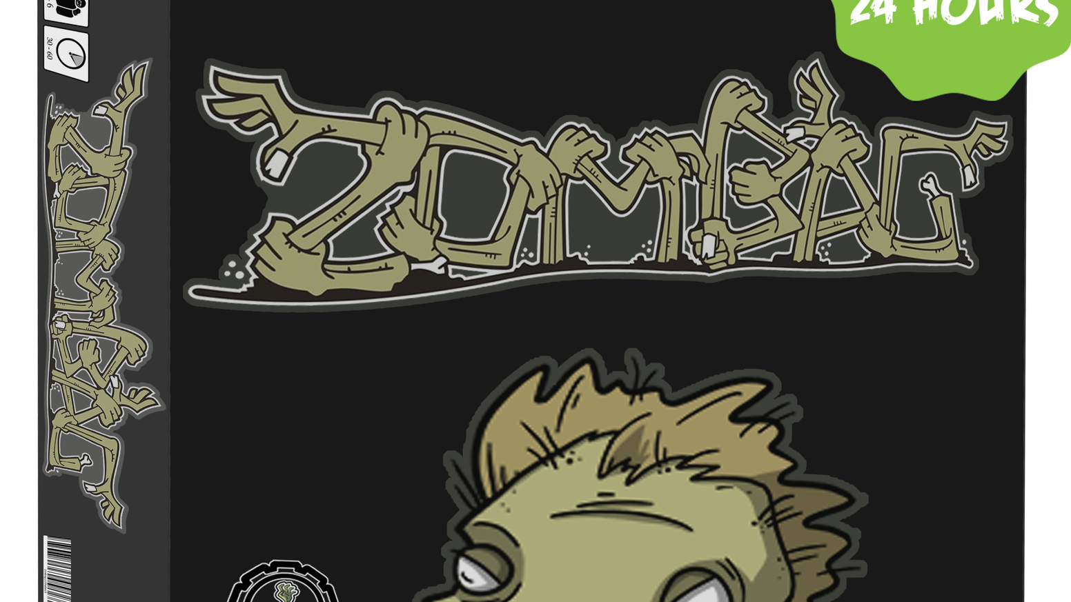 Outmaneuver your opponents, survive the zombie outbreak, and hope for good fortune. Take the apocalypse wherever you go, with Zombag!