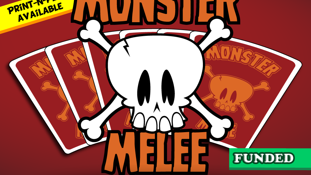 Monster Melee - The Monster Mashing Card Game project video thumbnail