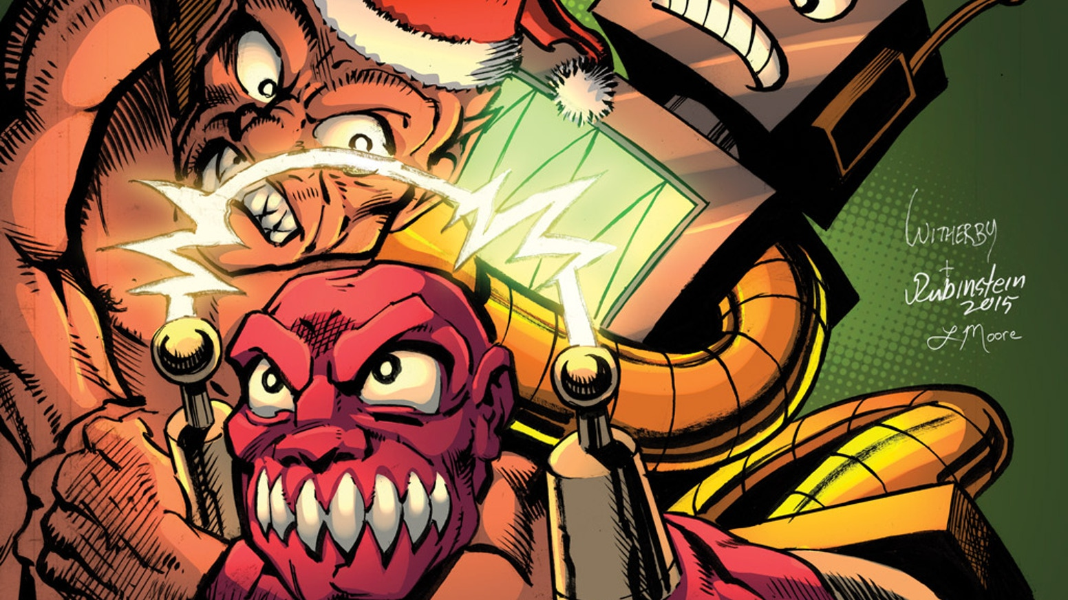 The next two issues of Strength Monsters in Christmas Tree Delivery and Ultra-Mayhem! An action adventure comic book about two best friends.