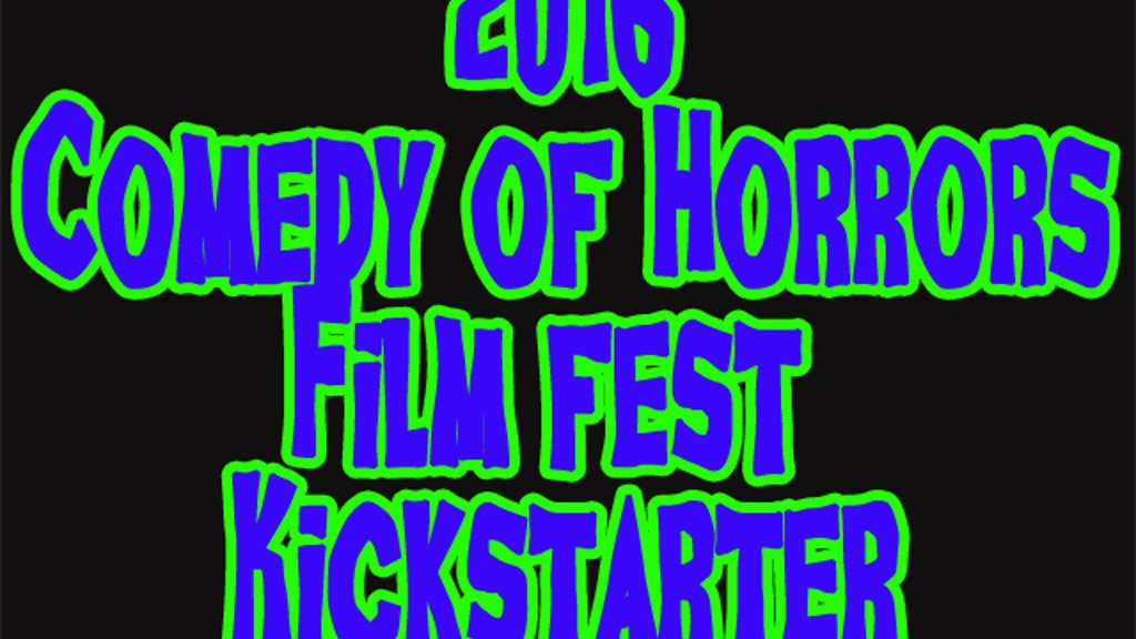 "BoneBat ""Comedy of Horrors"" Film Festival 2016 project video thumbnail"