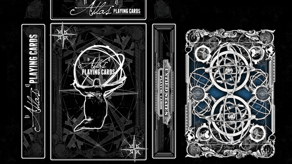 """Atlas"" Playing Cards By Ember Waves project video thumbnail"