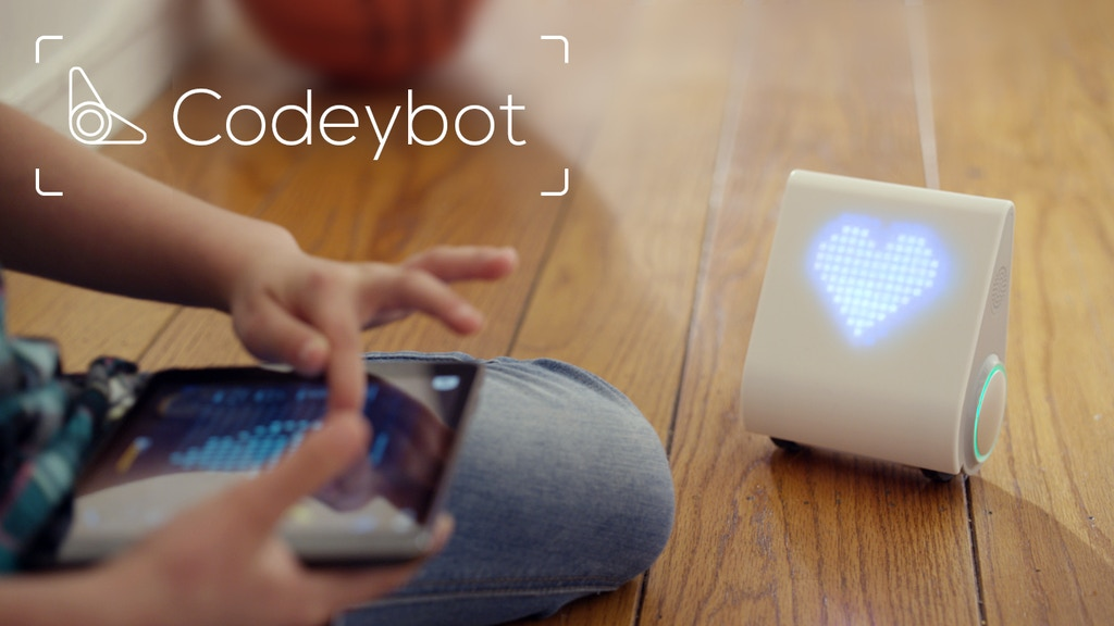 Codeybot: New Robot Who Teaches Coding project video thumbnail