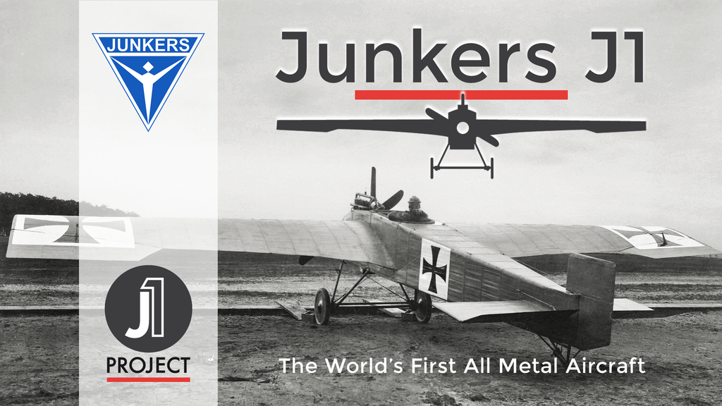 Junkers J1 - recreating the world's first all metal aircraft project video thumbnail