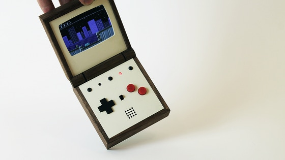 Pixel Vision - The handmade portable game system project video thumbnail