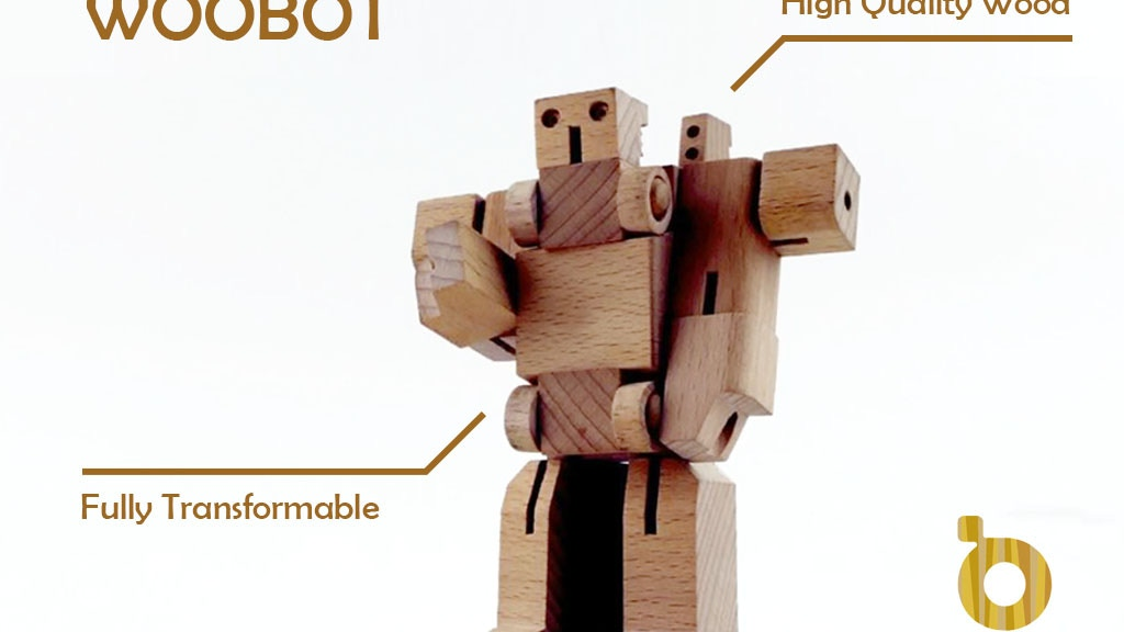 WooBots - Transformable Wooden Robot project video thumbnail