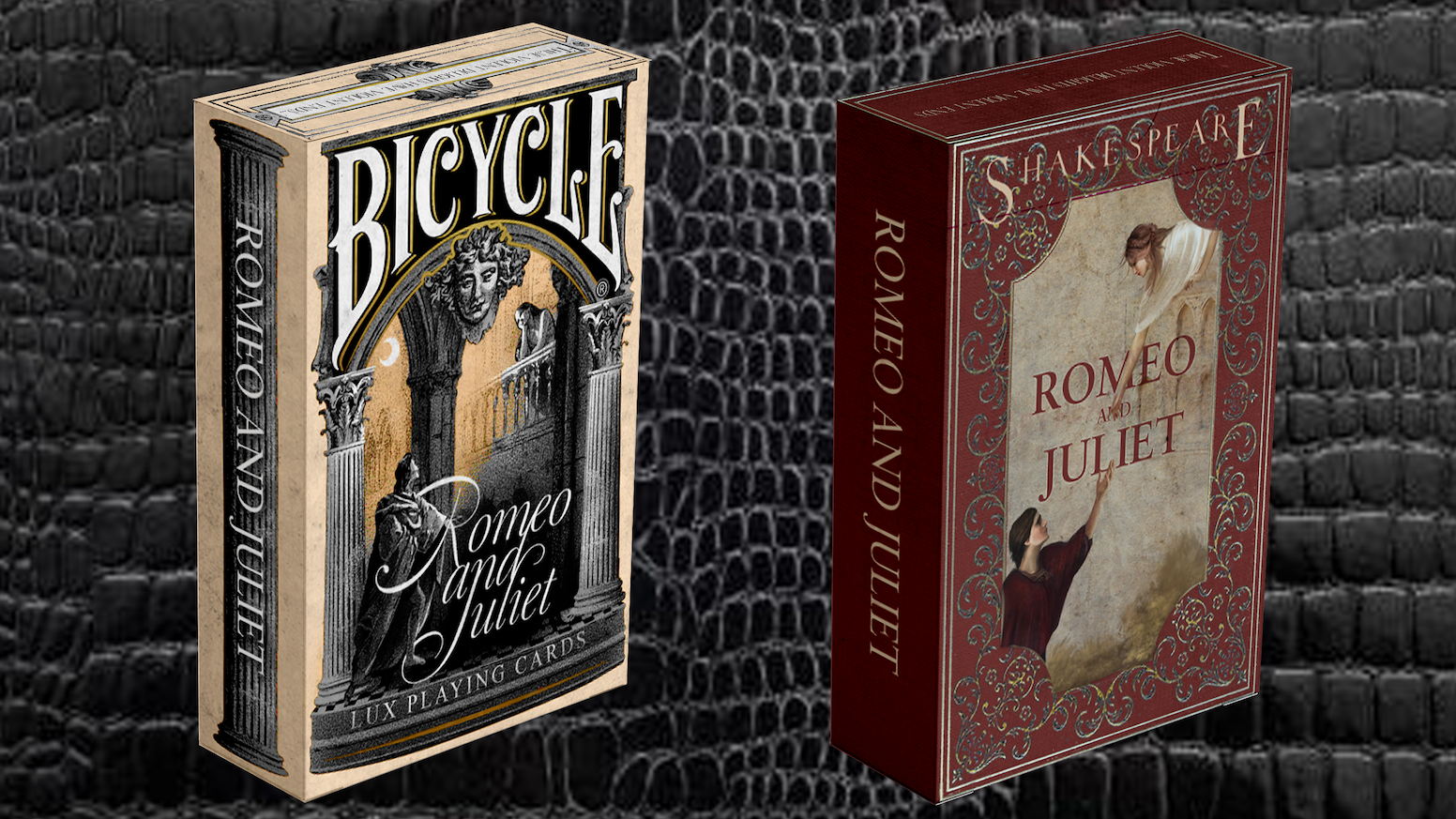 Montague vs Capulet: the Romeo and Juliet playing cards by