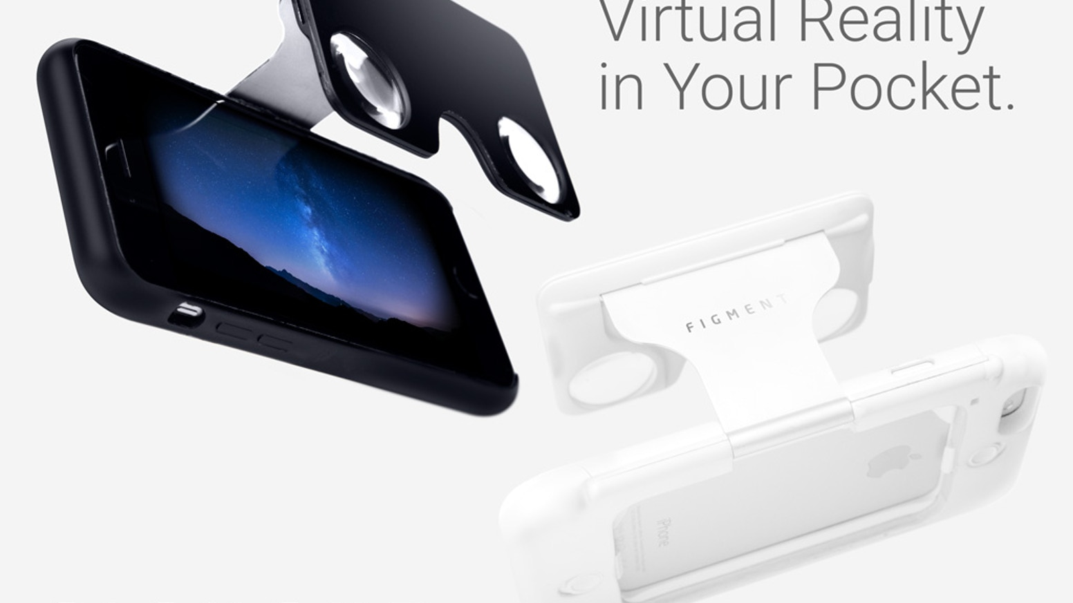 Figment Vr Virtual Reality Phonecase By Quantum Bakery Llc Rock Flash Light Tube Bumper Original Case Iphone 6 6s The Worlds First Viewer Built Into A Sleek Phone