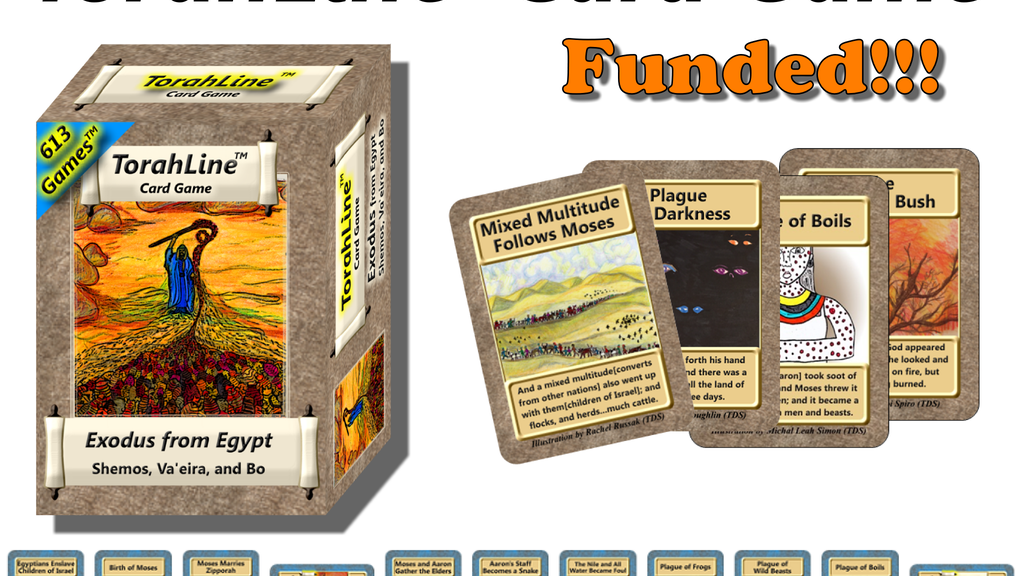 TorahLine Card Game - Exodus from Egypt project video thumbnail