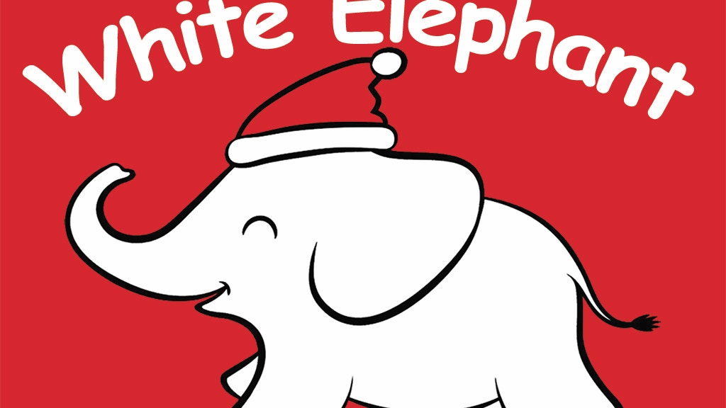 White elephant gift exchange card set by matt dambra kickstarter white elephant gift exchange card set project video thumbnail negle Gallery