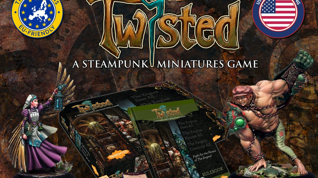 Twisted - A Steampunk Miniatures Game project video thumbnail