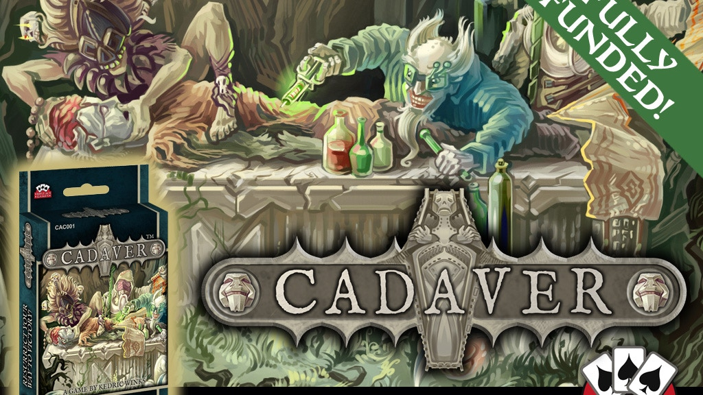 Cadaver - A Card Game For Aspiring Necromancers project video thumbnail